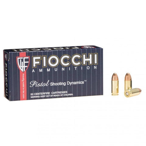 Fiocchi - 9mm - 124GR - FMJ - 50 Rds/box - Goodland Guns