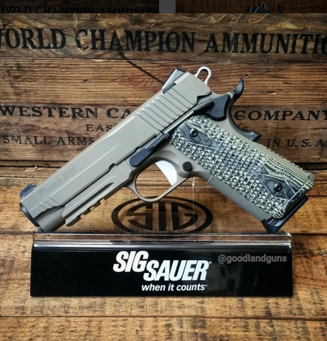 "SIG SAUER - 1911 Carry Scorpion - .45 ACP - 8+1 - 4"" - Goodland Guns"