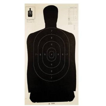 Champion Full Silhouette Target Black - Goodland Guns