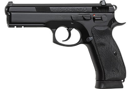 "CZ 75 SP-01 - 9mm - 10+1 - 4.7"" - Goodland Guns"