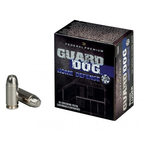 Federal Premium - 9mm - 105 GR - Guard Dog - 20 Rds/box - Goodland Guns