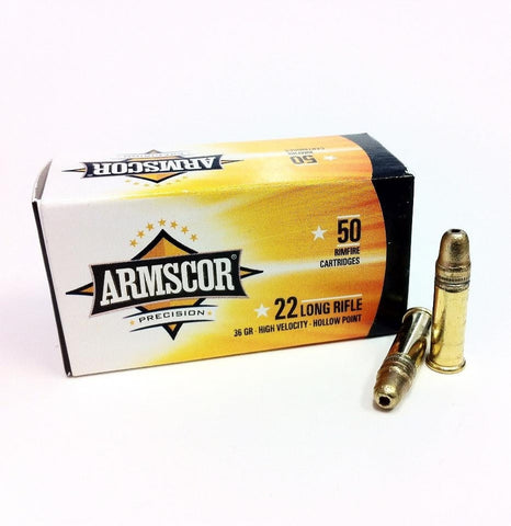 Armscor - 22LR - 36GR - HP - 500 Rds/box - Goodland Guns