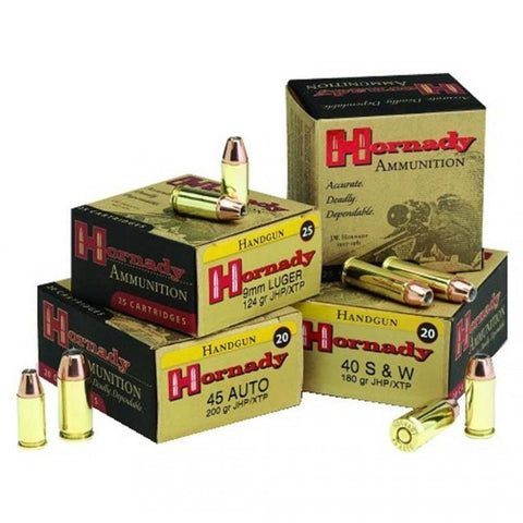 Hornady Custom Ammunition - 9mm - 147 GR - XTP - 25 Rds/box - Goodland Guns