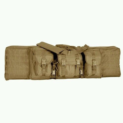 "Voodoo 36"" MOLLE Padded Rifle Case - Black"