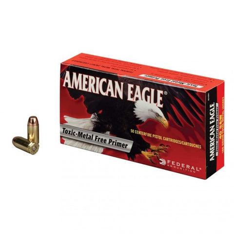 Federal American Eagle - .40 S&W - 165 GR - FMJ - 50 Rds/box - Goodland Guns
