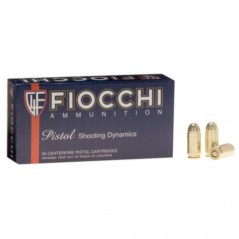 Fiocchi - 9x18mm Makarov - 95 GR - FMJ - 50 Rds/box - Goodland Guns