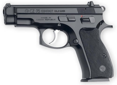 "CZ-USA 75 Compact - 9mm - 3.9"" - 10+1 - Goodland Guns"