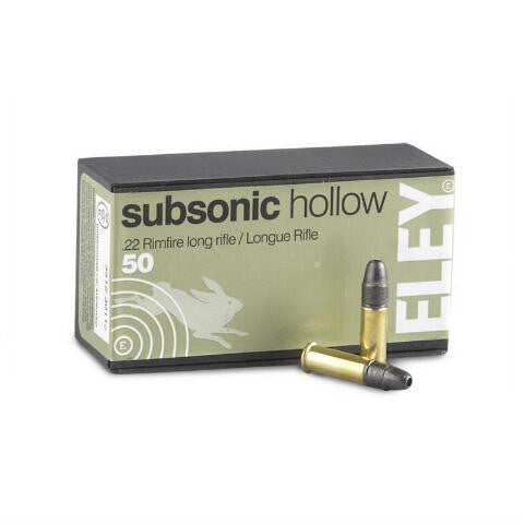 Eley .22 LR - Subsonic Hollow - - Goodland Guns