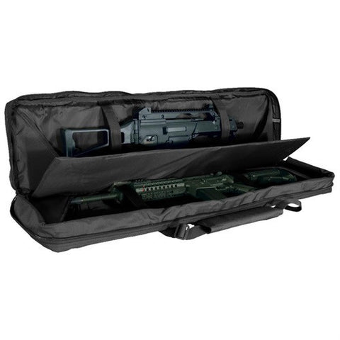 "Voodoo 36"" MOLLE Padded Rifle Case - Black - Goodland Guns"