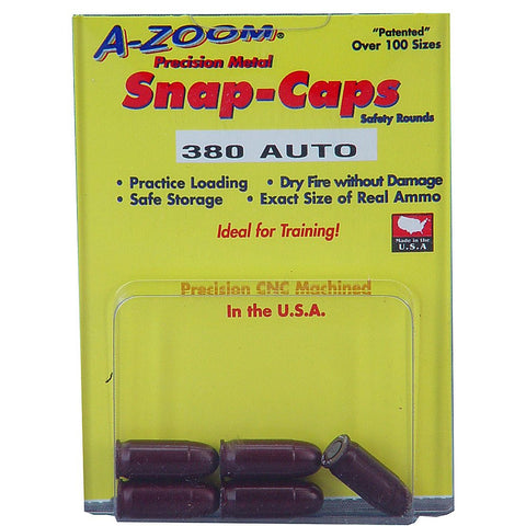 A-Zoom Pistol Metal Snap Caps - Goodland Guns