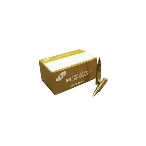 CBC OTM 5.56x45mm - 77 Gr - FMJ - 50 Rds/box - Goodland Guns
