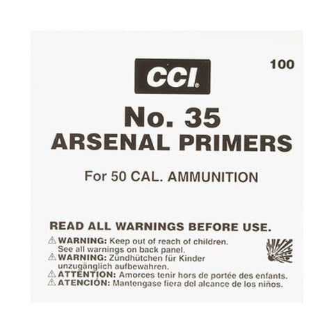 CCI 50 BMG Primers - No. 35 - Goodland Guns