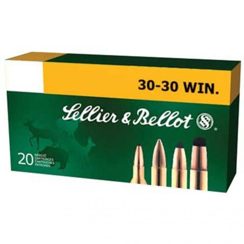 Sellier & Bellot - 30-30 Win - 150GR - SP - 20 Rds/box - Goodland Guns