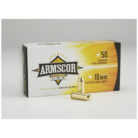 Armscor 10mm - 180 GR - FMJ - 5 - Goodland Guns