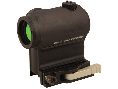 Aimpoint Micro T-1 Tactical Red Dot Sight 2 MOA with LRP Mount Matte - Goodland Guns