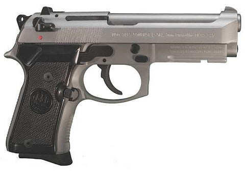 "Beretta - 92 - Compact Inox - 9mm - 10+1 - 4.25"" - Goodland Guns"