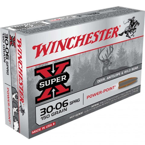 Winchester Super-X 30-06 - 150 GR - 20 Rds/box - Goodland Guns