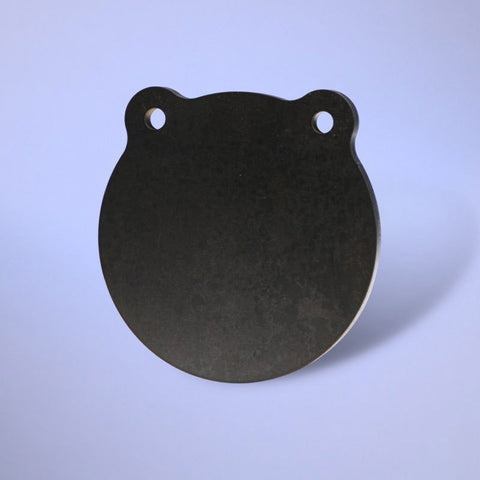 "AR500 Steel Plate - 6"" Round - Goodland Guns"