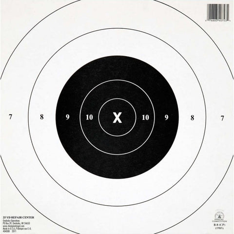 Champion NRA 25 Yd. Timed & Rapid Fire Targets - Goodland Guns