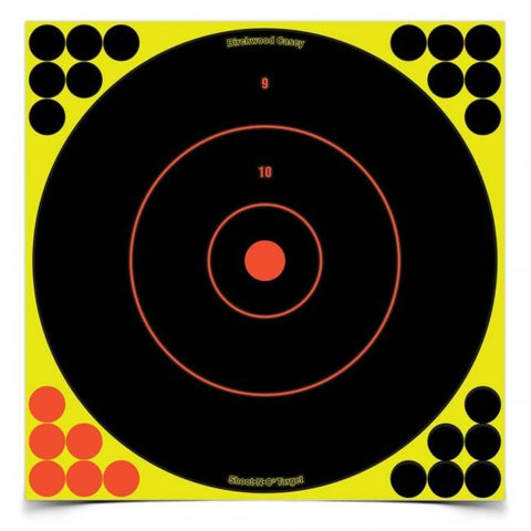 "Birchwood Casey Shoot-N-C 12"" Bull's-Eye - Goodland Guns"