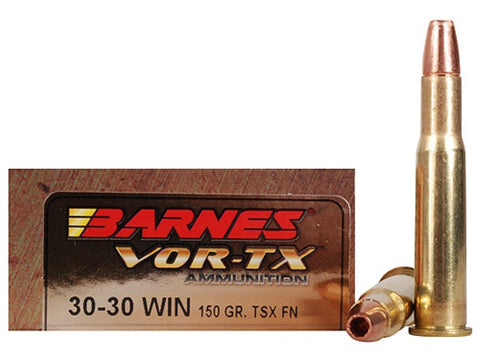 Barnes - .30-30 Win - 150 GR - VOR-TX - 20 Rds/box - Goodland Guns