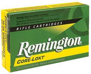 Remington - .30-06 - 150 GR - Core-Lokt - 20 Rds/box - Goodland Guns