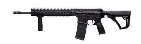 "Daniel Defense DDM4 - V5 LW - 5.56 - 16""- 10+1 - Matte Black - CA - Goodland Guns"