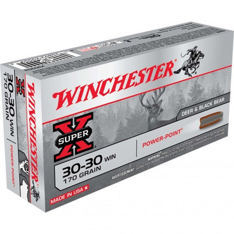Winchester Super-X 30-30 - 170 GR - 20 Rds/box - Goodland Guns