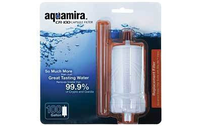 Aquamira CR-100 Capsule Filter - Goodland Guns