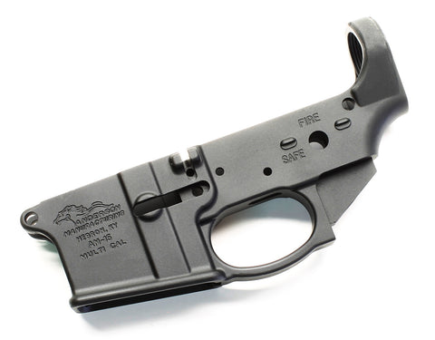Anderson Stripped Lower Receiver with Trigger Guard - Goodland Guns