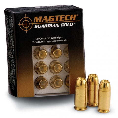 Magtech Guardian Gold - 9mm - 115GR - JHP - 20 Rds/box - Goodland Guns