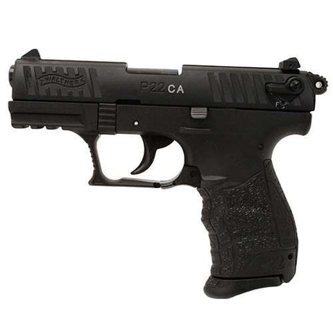 "Walther P22 - .22LR - 10+1 - 3.4"" - Black - CA - Goodland Guns"