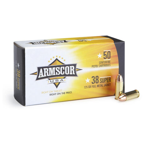 Armscor - .38 Super Auto - FMJ - Goodland Guns