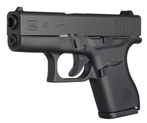 "Glock - 43 - 9mm - 6+1 - 3.39"" - Gen 4 LEO ONLY - Goodland Guns"
