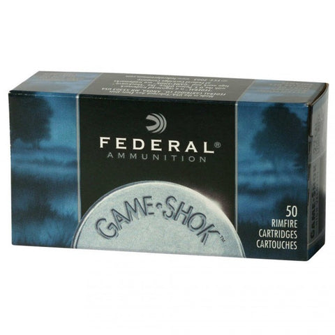 Federal Premium - .22LR - 40 GR - Game-Shok - 50 Rds/box - Goodland Guns