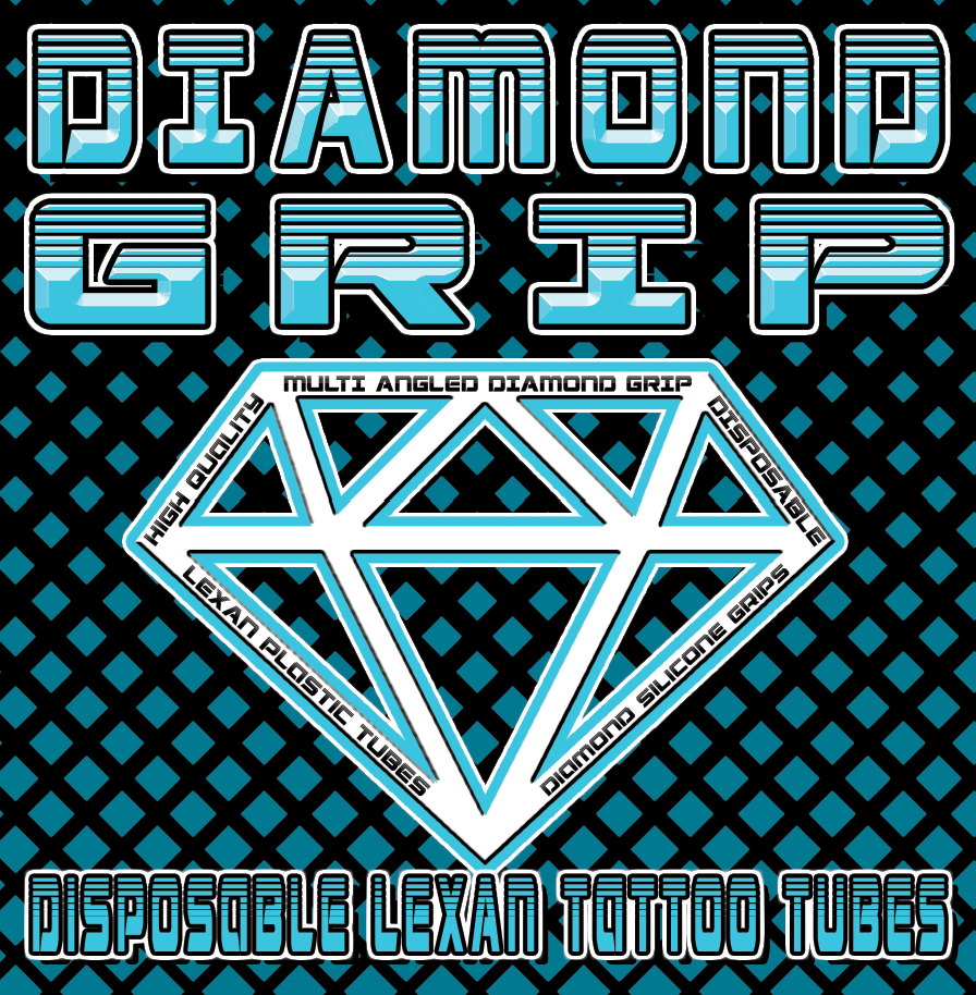 Diamond Grip Disposable Tattoo Tubes