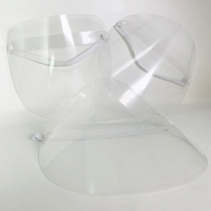 Available at True Tattoo Supply. Disposable Face Shields are an important piece of Personal Protective Equipment (PPE). Face Shields provide over the top, side, and front face protection against splash and splatter of fluid-borne pathogens.