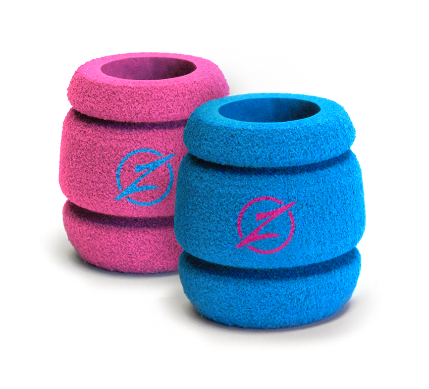 "The new Intenze True Grips feature our cherished ""Barrel Grip"" shape with the trusted Intenze Blue and Pink colors. True Tattoo Supply's Durb Morrison and Intenze Tattoo Ink's Mario Barth have worked together on a new True Grip that is now available exclusively at Intenze Tattoo Supply"