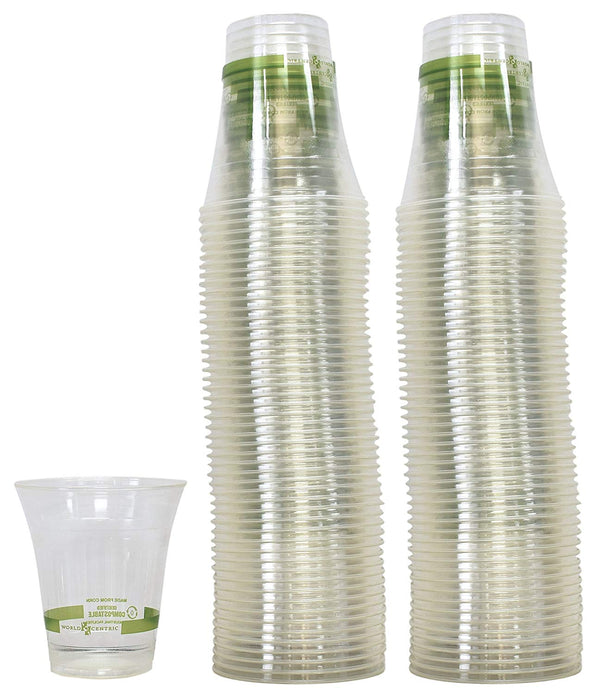 Available at True Tattoo Supply. Eco-Friendly & Compostable Rinse Cups - pack of 50 cupsCompostable plastic cups at True Tattoo Supply have one of the lowest net carbon footprints of any disposable plastic cups on the tattoo market.