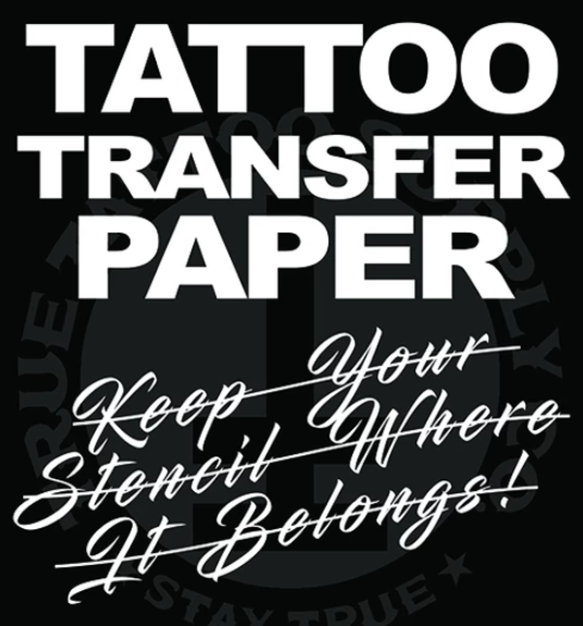 Stencil Tattoo Transfer Paper