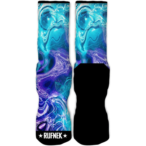 Rufnek Hardware Energy Aqua 8s Socks