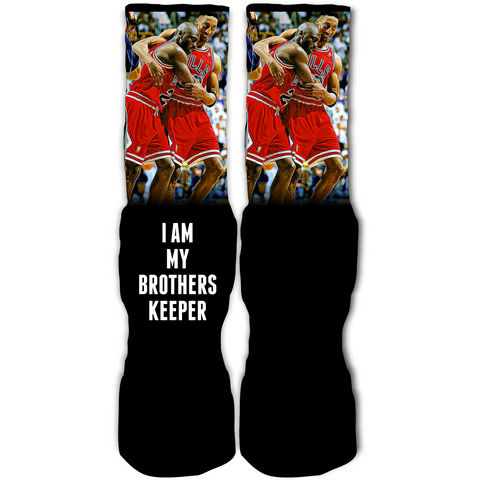 Rufnek Hardware My Brothers Keeper Flu Game 12's Socks