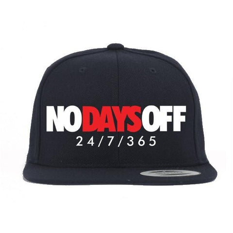 Savage No Days Off Banned 1's Snapback Hat