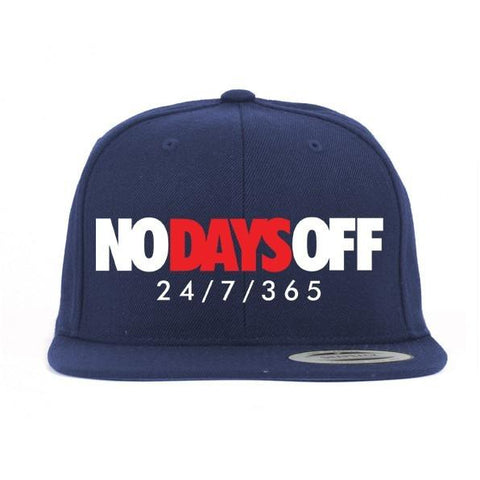 Savage No Days Off Olympic 7's Snapback Hat