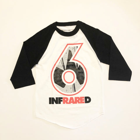 Retro Kings Clothing Infrared 6s Baseball Tee