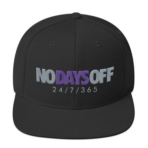 Savage No Days Off Ray Allen 7s Snapback Hat