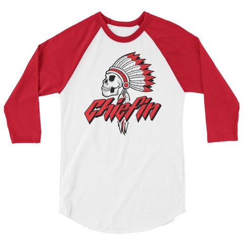Savage Chiefin' Bred 3/4 sleeve raglan shirt