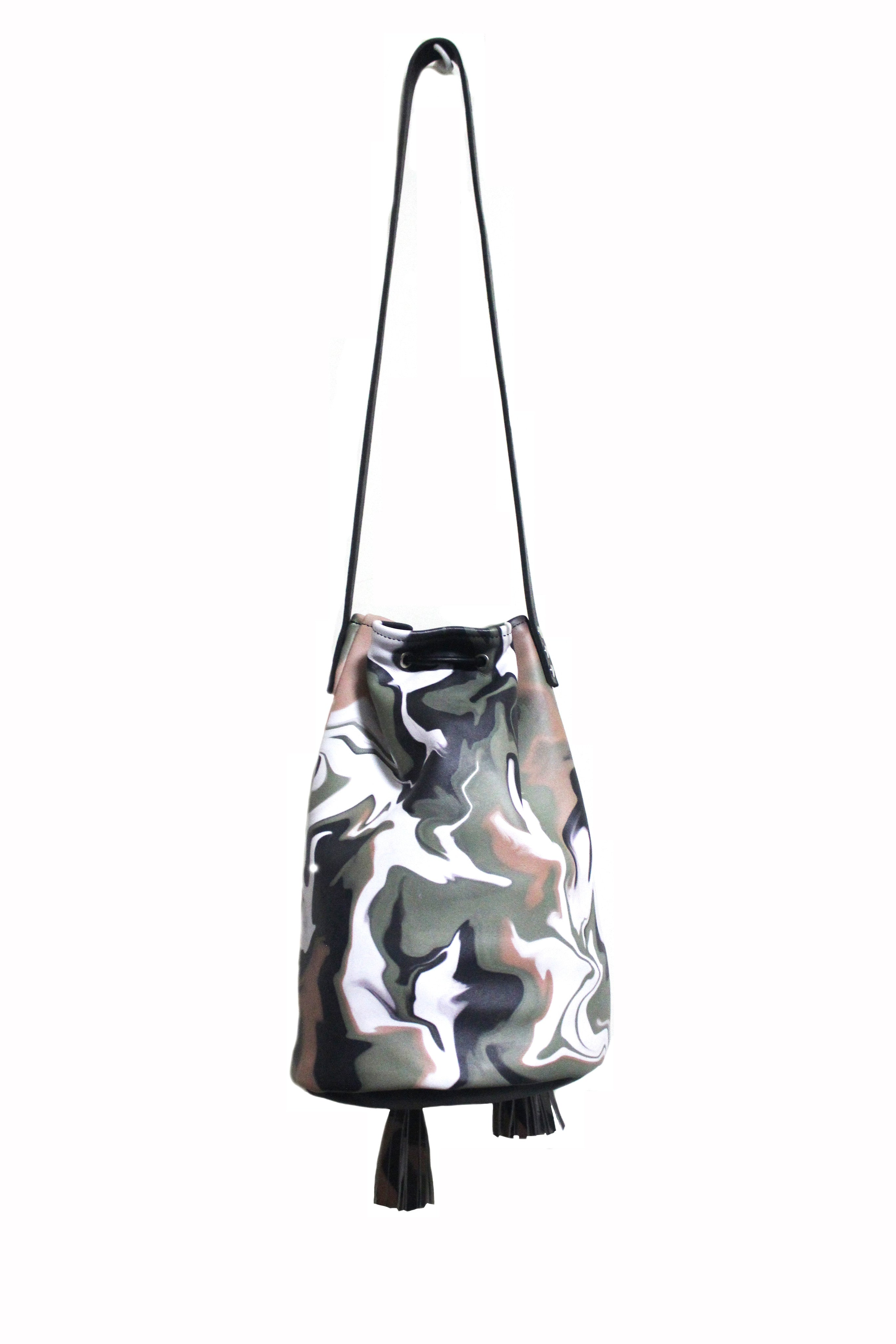 Smokey Camo Bucket Bag