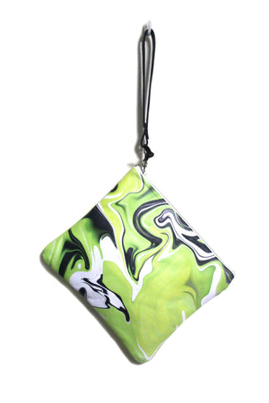 Lime Drop Clutch