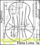 Plans - Tenor Kasha Braced Ukulele